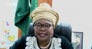 Prof. Sarah Agbor, the Commissioner Human Resources, Science and Technology, African Union (AU),