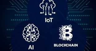 artificial intelligence (AI), cloud computing, blockchain, Internet of Things (IoT), virtual reality